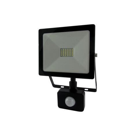 LED Reflektor s senzorjem LED/20W/230V IP64 1600lm 4200K
