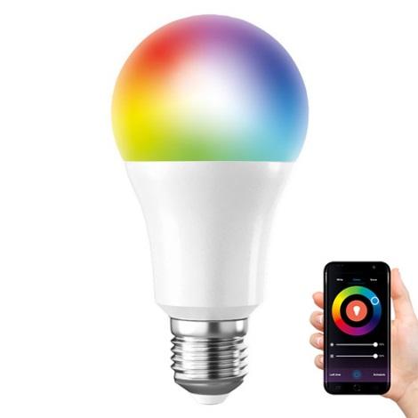 LED RGB Zatemnitvena žarnica SMART WIFI E27/10W/230V