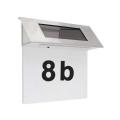 LED solarna hišna številka