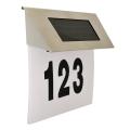LED Solarna hišna številka LED/1,2V IP44