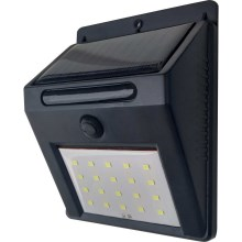 LED Solarna stenska svetilka LED/3W IP44