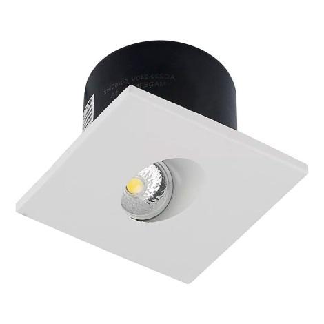 LED Stopniščna svetilka 1xLED/3W/230V 3000K