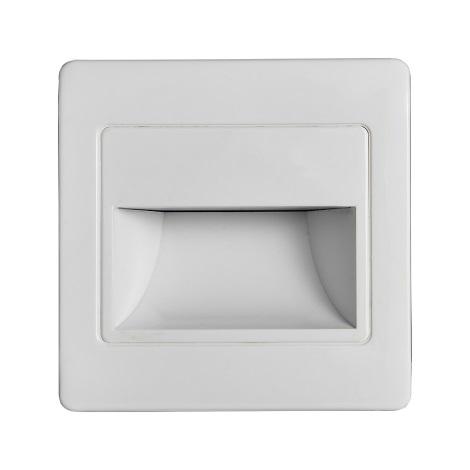 LED Stopniščna svetilka s senzorjem STEP LIGHT NET LED/1,5W/230V bela