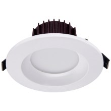LED Vgradna svetilka DOWNLIGHT PLASTIC LED/5W/230V 11 cm
