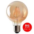 LED Žarnica LEDSTAR AMBER G95 E27/8W/230V