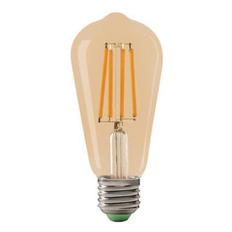 LED Žarnica LEDSTAR AMBER ST64 E27/10W/230V
