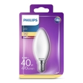 LED Žarnica Philips B35 E14/4,3W/230V