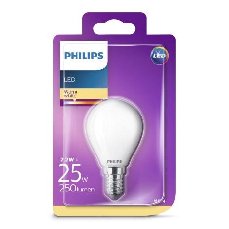 LED Žarnica Philips E14/2,2W/230V
