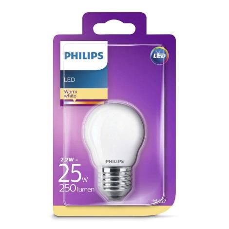 LED Žarnica Philips E27/2,2W/230V