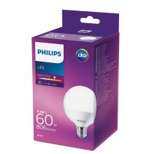 LED Žarnica Philips E27/9,5W/230V 2700K