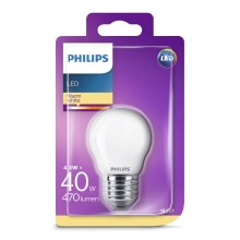 LED Žarnica Philips P45 E27/4,3W/230V