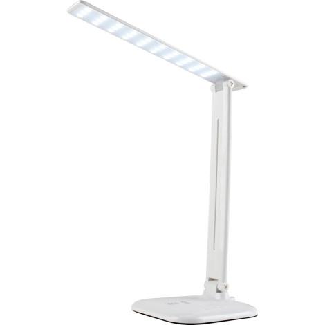 LED Zatemnitvena namizna svetilka na dotik JOWI LED/9W/230V bela