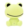 LED Zatemnitvena otroška nočna lučka LED/2,5W žaba zelena