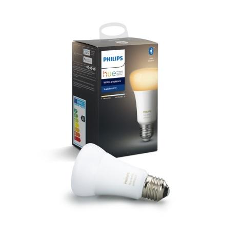 LED Zatemnitvena žarnica Philips HUE WHITE AMBIANCE 1xE27/8,5W/230V