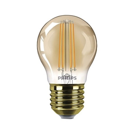 LED Zatemnitvena žarnica VINTAGE  E27/5W/230V - Philips
