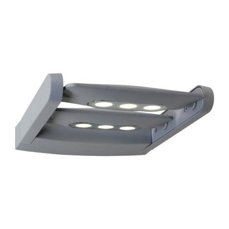 LED zunanja stenska svetilka AWAX 6xLED/3W/230V IP54