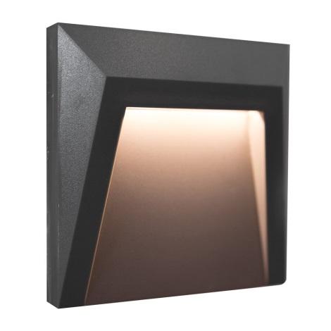LED Zunanja stopniščna svetilka HOLDEN LED/1,5W/230V IP65