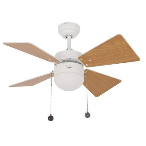 Lucci air 512114 - Stropni ventilator BREEZER 1xE27/60W/230V