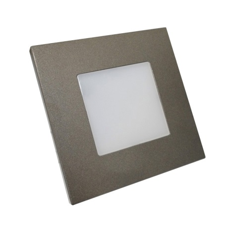 Luxera 48305 - LED orientacijska svetilka STEP LIGHT 16xLED/1W/230V