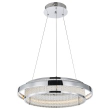 Luxera 64389 - LED kristalni lestenec na vrvici SEATTLE LED/34W/230V