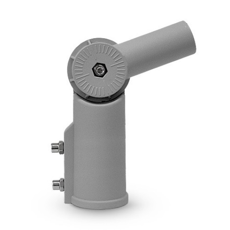 Nosilec za ulično svetilko siv IP44