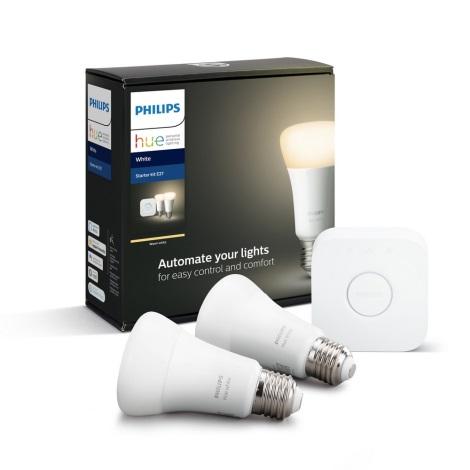 Osnovni komplet Philips HUE STARTER KIT 2xE27/9W + naprava za povezovanje