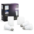 Osnovni komplet Philips HUE WHITE AND COLOR AMBIANCE 3xE27/10W/230V