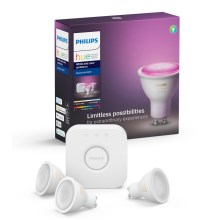 Osnovni komplet Philips HUE WHITE AND COLOR AMBIANCE 3xGU10/5,7W/230V