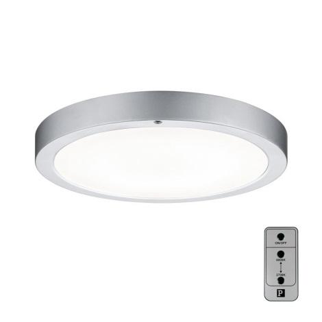 Paulmann 70433 - LED/11W Stropna svetilka SMOOTH 230V + dalj. upravljalnik