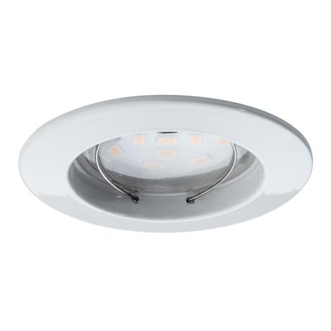 Paulmann 92754 - LED/6,8W IP44 Kopalniška vgradna svetilka COIN 230V