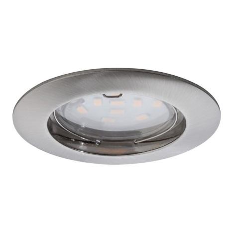 Paulmann 92756 - LED Kopalniška vgradna svetilka COIN 1xLED/6,8W/230V IP44