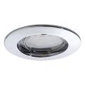 Paulmann 92758 - LED/6,8W IP44 Kopalniška vgradna svetilka COIN 230V