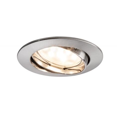 Paulmann 92767 - LED/6,8W Kopalniška vgradna svetilka COIN 230V