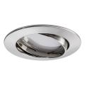Paulmann 92777 - LED Kopalniška vgradna svetilka COIN 1xLED/6,8W/230V IP23