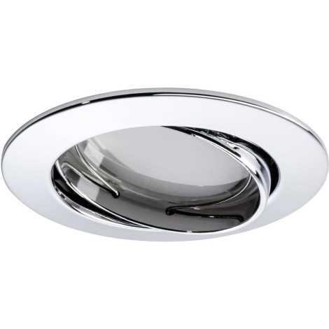 Paulmann 92836 - LED/7W Zatemnitvena kopalniška vgradna svetilka COIN 230V