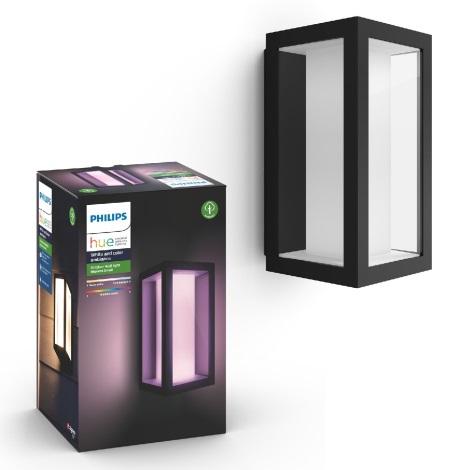 Philips 17429/30/P7 - LED RGB Zunanja stenska svetilka HUE IMPRESS 2xLED/8W/230V IP44