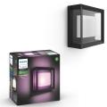 Philips 17438/30/P7 - LED RGB Zunanja stenska svetilka HUE ECONIC LED/15W/230V IP44