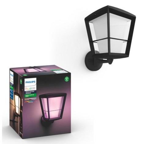 Philips 17439/30/P7 - LED RGB Zunanja stenska svetilka HUE ECONIC LED/15W/230V IP44