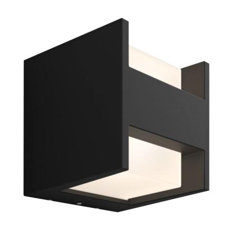Philips 17444/30/P7 - LED Zunanja stenska svetilka HUE WHITE FUZO LED/15W/230V IP44