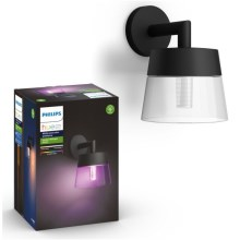 Philips 17461/30/P7 - LED RGB Zunanja stenska svetilka HUE ATTRACT LED/8W/230V IP44
