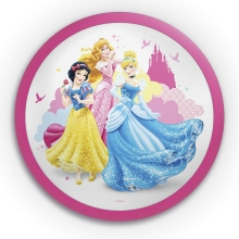 Philips 71760/28/16 - LED Otroška stenska svetilka DISNEY PRINCESS 1xLED/4W/230V
