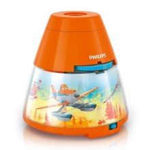 Philips 71769/53/16 - LED Otroški projektor DISNEY PLANES LED/0,1W/3xAA