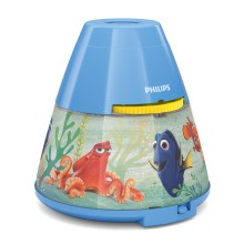 Philips 71769/90/16 - LED Otroški projektor DISNEY DORY LED/0,1W/3xAAA