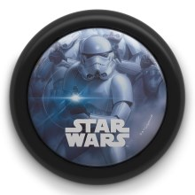 Philips 71924/30/P0 - LED Otroška luč na dotik STAR WARS LED/0,3W/2xAA