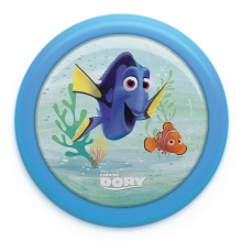 Philips 71924/35/P0 - LED Otroška luč na dotik DISNEY FINDING DORY LED/0,3W/2xAA