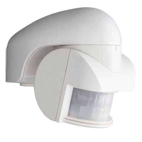 Philips Massive 87098/12/31 - Senzor gibanja VIRGINIA bel IP44