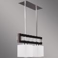 Prezent 51252 - Obesna svetilka SANGA 2xE14/60W rjava