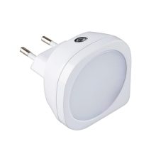 Rabalux 4647 - LED Otroška svetilka BILLY LED/0,5W/230V bela