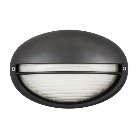 Rabalux 8689 - Zunanja stenska svetilka CELL 1xE27/60W/230V črna IP54