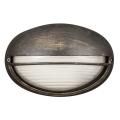 Rabalux 8691 - Zunanja stenska svetilka CELL 1xE27/60W/230V patina IP54